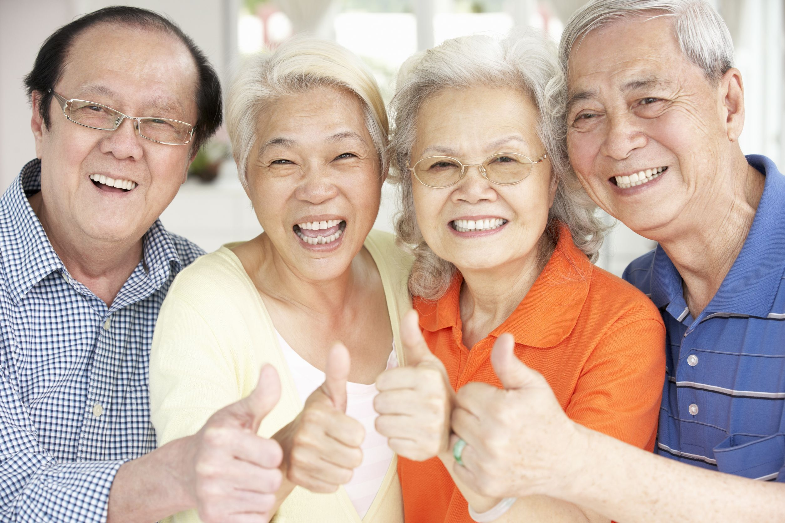 Image result for happy chinese elderly family